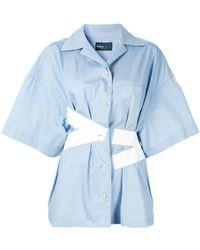 Kolor - Camicia con dettaglio a contrasto - Lyst