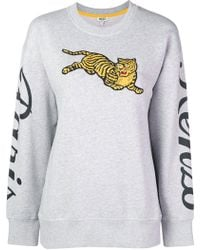 KENZO - Jumping Tiger Sweatshirt - Lyst