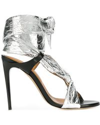 IRO | Ankle Tie Stiletto Sandals | Lyst