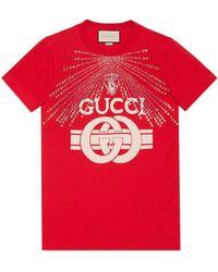 Gucci - Print T-shirt - Lyst