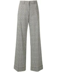 PS by Paul Smith - Checked Print Trousers - Lyst