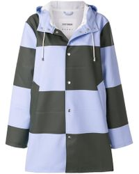 Marni - Checked Raincoat - Lyst