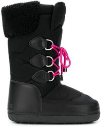 DSquared² - Lace-up Moonboots - Lyst