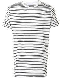 Neil Barrett - Striped T-shirt - Lyst