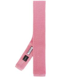 Fashion Clinic - Knitted Square-tip Tie - Lyst