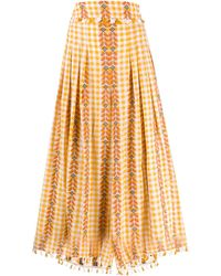 Dodo Bar Or - Gingham Pleated Skirt - Lyst