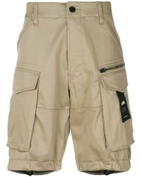 G-Star RAW - Multi-pocket Cargo Shorts - Lyst