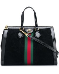 Gucci - Ophidia Medium Top Handle Bag - Lyst