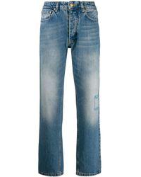 Victoria, Victoria Beckham - Tapered-Jeans mit hohem Bund - Lyst
