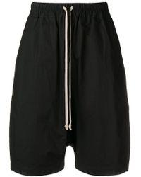 Rick Owens Drkshdw - Drop-crotch Shorts - Lyst