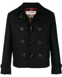 Saint Laurent - Classic Fitted Duffle Coat - Lyst