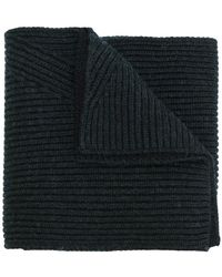 Lanvin - Ribbed Scarf - Lyst