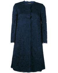 Dolce & Gabbana - Lace Coat - Lyst
