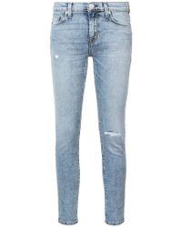 Hudson Jeans - Nico Super Skinny Jeans - Lyst