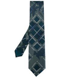 Brioni - Checked Tie - Lyst