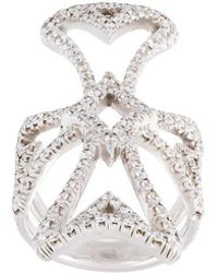 Loree Rodkin - Maltese Cross Diamond Ring - Lyst