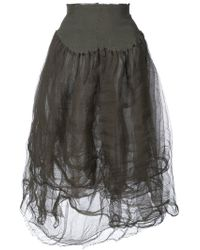Marc Le Bihan - High-waisted Tulle Skirt - Lyst