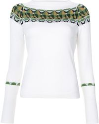 Creatures of the Wind - Embroidered Panel Sweater - Lyst