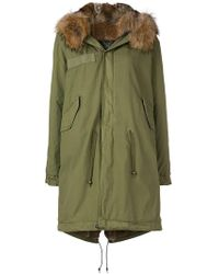 Mr & Mrs Italy - Fur Trim Parka - Lyst