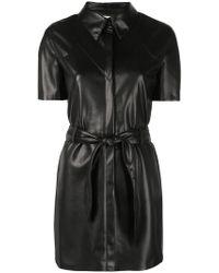 Nanushka - Roberta Shirt Dress - Lyst