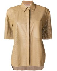 DROMe - Shortsleeved Shirt - Lyst