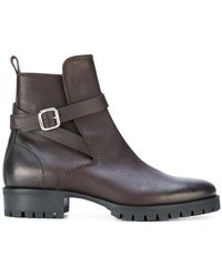 DSquared² - Buckle Ankle Boots - Lyst