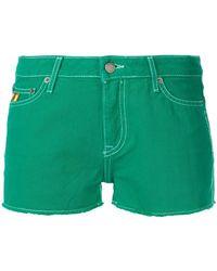 Mira Mikati - Basic Denim Shorts - Lyst
