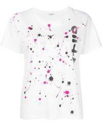 P.A.R.O.S.H. - Paint Splash T-shirt - Lyst