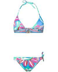 Emilio Pucci - Bikini con estampado Merida - Lyst