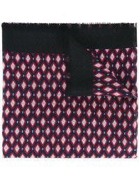 Marc Jacobs - Diamond Print Scarf - Lyst
