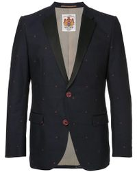 Education From Young Machines - Cherry Embroidered Blazer - Lyst