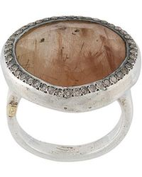 Rosa Maria - Round Signet Ring - Lyst