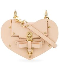 Niels Peeraer - Saddle Leather Heart Handbag - Lyst
