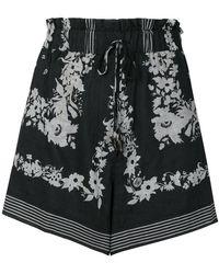 Nanushka - Printed Shorts - Lyst