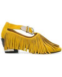 Toga - Fringed Court Shoes - Lyst