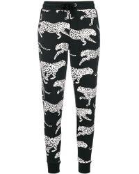Zoe Karssen - Cheetah Print Lounge Trousers - Lyst