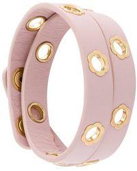 Ferragamo - Flower Wrap Bracelet - Lyst