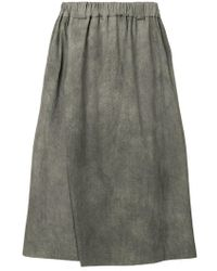Moohong - Wide-leg Skirt Trousers - Lyst