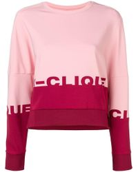 Pinko - Dropped Shoulder Sweatshirt - Lyst
