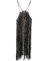 Caravana - Bulkabal Long Fringed Dress - Lyst