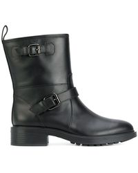 Hogan | Pin Buckled Boots | Lyst