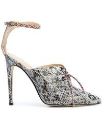 Chloe Gosselin - Salix Lace Up Detail Court Shoes - Lyst