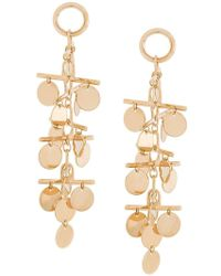 Eddie Borgo - Hanging Coin Earrings - Lyst