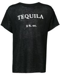The Elder Statesman - Cashmere Tequila T-shirt - Lyst
