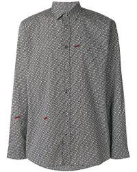 Moschino - Freedom Print Shirt - Lyst