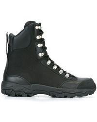 Marcelo Burlon - Hiking Combat Boots - Lyst