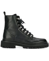 Balmain - Utility Ankle Boots - Lyst