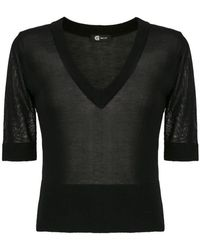 Gloria Coelho - Knit Top - Lyst