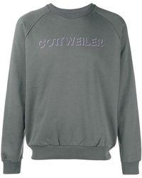 Cottweiler - Logo Print Jersey Jumper - Lyst