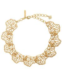 Oscar de la Renta - Coral Branch Necklace - Lyst